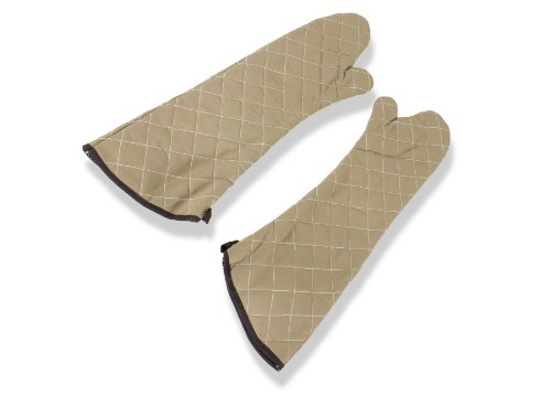 Crestware Commercial Grade, HD24, 24'' Inch Heat Guard Oven Mitt (Package of 2) by Crestware