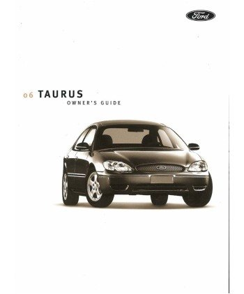 amazon com 2006 ford taurus owners manual user guide reference rh amazon com 2006 ford taurus owners manual download 2006 ford taurus owners manual free