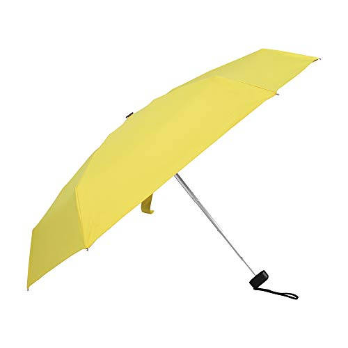 HEBB Mini Folding travel Compact and Lightweight UV Protection Clear Umbrella with Case 37inch Pocket umbrella