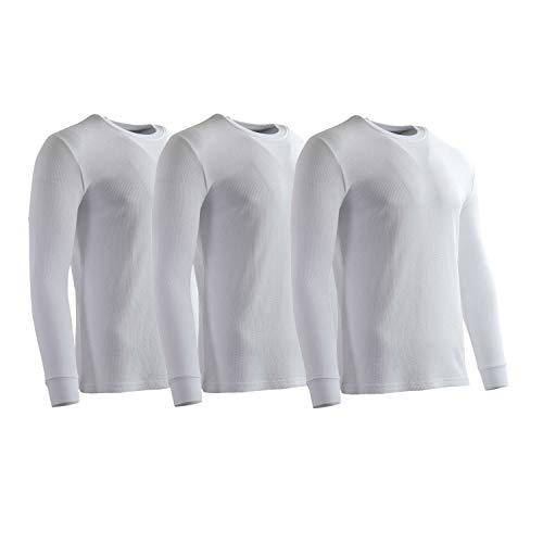 (Rich Cotton Thermal 181 (L, White - 3 Pack) )