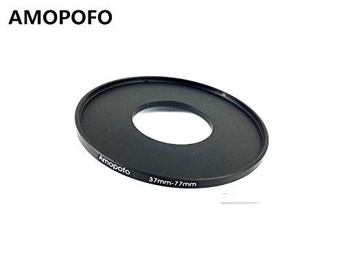 37-77mm /37mm to 77mm Step Up Ring Filter Adapter for canon Nikon Sony UV,ND,CPL,Metal Step Up Ring Adapter
