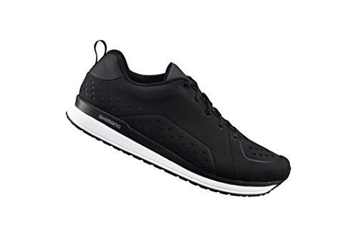(SHIMANO SH-CT5 Bicycle Shoes, Black, Size 44)