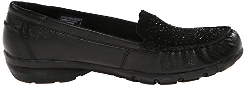 Skechers Womens Career Favoloso Consiglia Nero Piatto