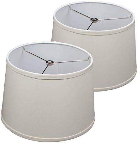 FenchelShades.com Set of 2 Lampshades 10 Top Diameter x 12 Bottom Diameter x 8 Slant Height