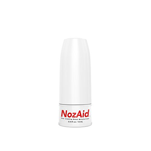 Nasal Spray Moisturizer with Sesame Oil .34 Ounce - Moisturizing Lubricant for Dry, Crusty, Cracked, Stuffy Nose Relief, Nosebleeds, Clear Breathing - Fragrance and Preservative Free by NozAid by NozAid (Image #4)