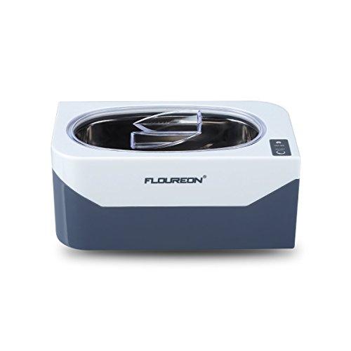 FLOUREON 400ml Ultrasonic Cleaner for Jewellery, Watches, Dentures,...