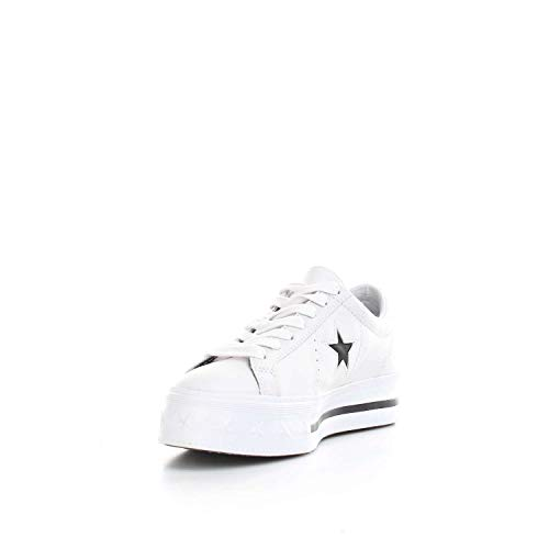 white Lifestyle Ox Platform One white black Converse 102 Sneakers Blanc Basses Star Femme PwdqIBfnt
