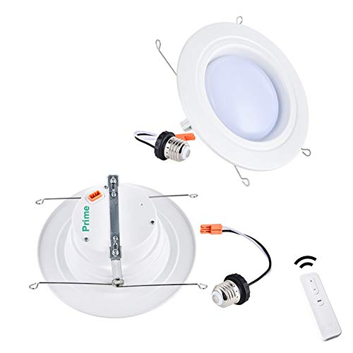 Smart 5 6 Inch LED Recessed Lights – No Hub Required E26 Base Recessed Lighting Kit Group Downlight Controlled in Unison, Compatible with Alexa and Google Assistant by Ankee 1 Prime 1 Minor Light