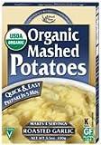 Edward & Sons Organic Mashed Potatoes Roasted Garlic -- 3.5 oz