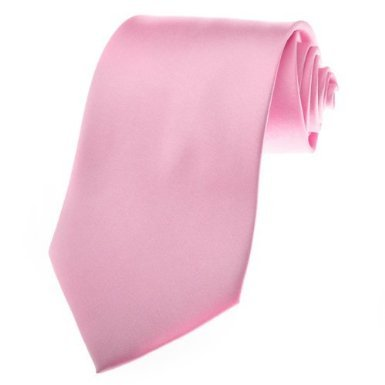 b3259e3597fc Image Unavailable. Image not available for. Color: BRAND NEW SOLID Pale PINK  SATIN Mens Necktie Neck Tie