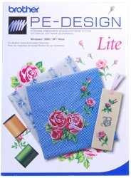 Price comparison product image Brother PE Design Lite Embroidery Software - Comes with Rewritable Embroidery Card + Reader / Writer Box + Auto-Digitizing Capabilities + 35 Fonts!!!