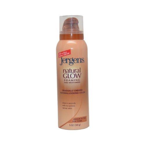 Jergens Natural Glow Foaming Daily Moisturizer Medium to Tan