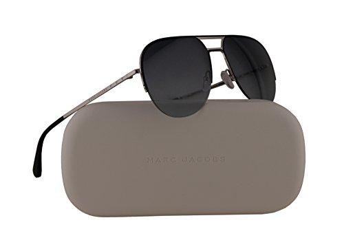 Marc Jacobs MJ624/S Sunglasses Silver Black w/Grey Gradient Lens 58mm L2EHD MJ624S MJ - Mark Jacobs Shades
