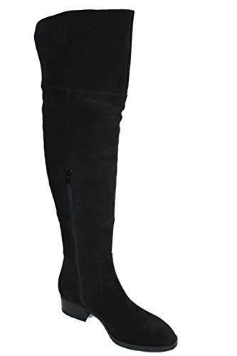 Paola Ferri Damen Stiefel Schwarz (Crosta Nero) Grösse 36