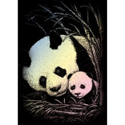 Bulk Buy: Royal Brush Mini Holographic Engraving Art Kit 5''X7'' Bamboo Panda HOLOMIN-104 (6-Pack) by Royal & Langnickel