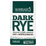 Marriage's - Dark Rye Flour 100% Wholemeal - 1Kg