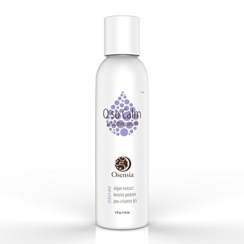 Hair Smoothing Serum for Damaged Frizzy Hair - Split Ends Treatment with Brilliant Shine - Humidity Resistant for Curls, Waves, Dry, Straight, and Color Treated Hair Shiny, and Smooth by Osensia 4oz
