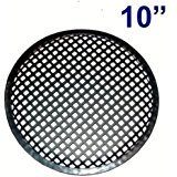 """American Terminal 10"""" Universal Metal Car Audio Speaker SubWoofer Waffle Grill Protector Cover"""