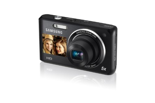 Samsung DV100/ DV101 Dual View Digital Camera Black International Model