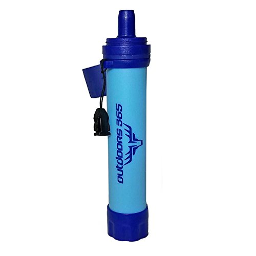 Outdoors 365 Survival Straw Portable Water Filter