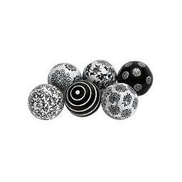 Deco 79 Ceramic Ball S/6 3\