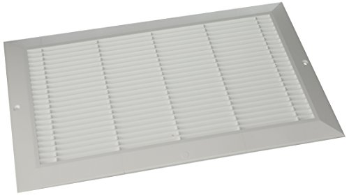 Wh Air Return (Decor Grates PL814-WH 8-Inch by 14-Inch Cold Air Return, White)
