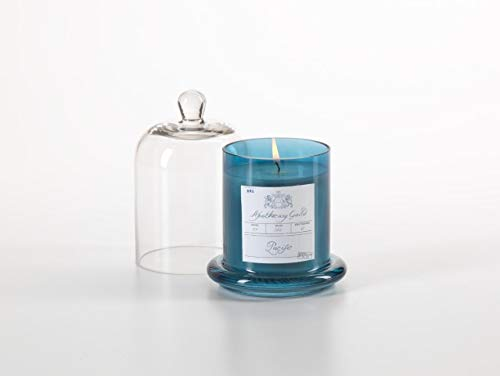 Apothecary Jar Candle - Apothecary Guild Candle Jar with Glass Dome, Pacific, Medium