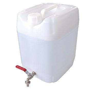 Relativ Wasserkanister 20L lebensmittelecht Metallhahn Trinkwasserkanister FJ02