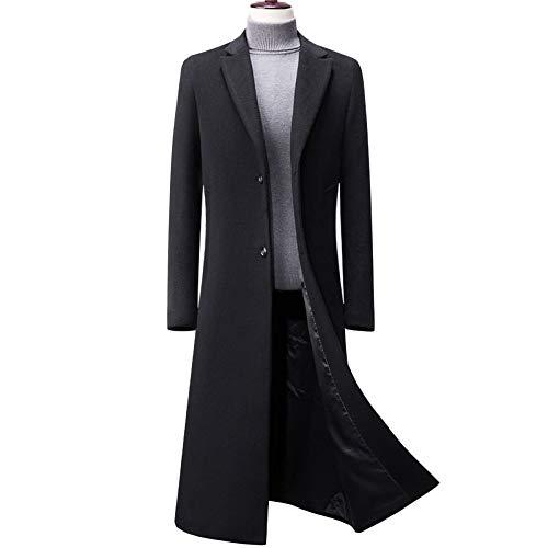 Cappotto Cappotto Cappotto Giacche Invernale Giacca A Invernali Uomo Uomo Uomo Invernale nihiug da da da Uomo Lana in Sezione Donna Elegante Black Lunga Cappotto tdcwqABRA