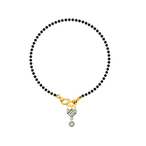 A-One Collection Black Designer Gold Plated Hand Bracelet Bangle Style Mangalsutra for Women (B07R2CFF5C) Amazon Price History, Amazon Price Tracker