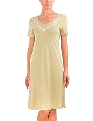 Best Seller Women's Super-Soft Cotton Knit Sleepwear Nightgown Sleepshirt