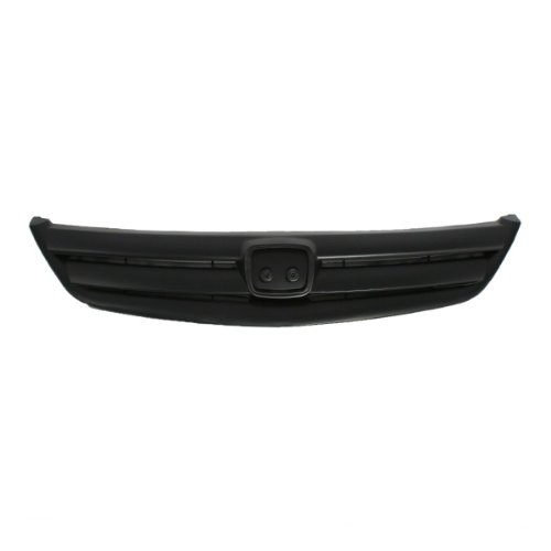 CarPartsDepot, Front Grill Grille Outer Frame Body Primed Black 4dr Sedan w/o Back Support, 400-20335 HO1200154 71121S5A003ZC