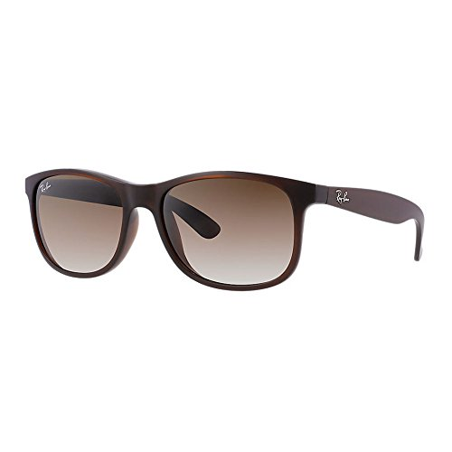 New Ray Ban Andy RB4202 607313 Brown/ Brown Gradient 55mm - Ray Sunglasses Ban Transition