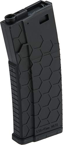 Evike Hexmag Airsoft Polymer 300rd FlashMag Magazine for M4 / M16 Series Airsoft AEG Rifles (Color: -
