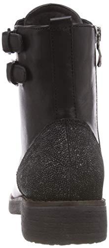 Women's Caprice Combat 9 Boots Black 19 Comb 019 9 25205 Black 21 dppqB