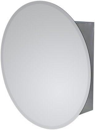 ミラーキャビネット ステンレス 洗面収納 [幅50×高50cm] 810