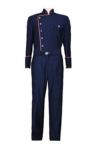 Battlestar Galactica Costumes (Battlestar Cosplay Costume Galactica Commander William Adama Uniform Custom Made Dark)
