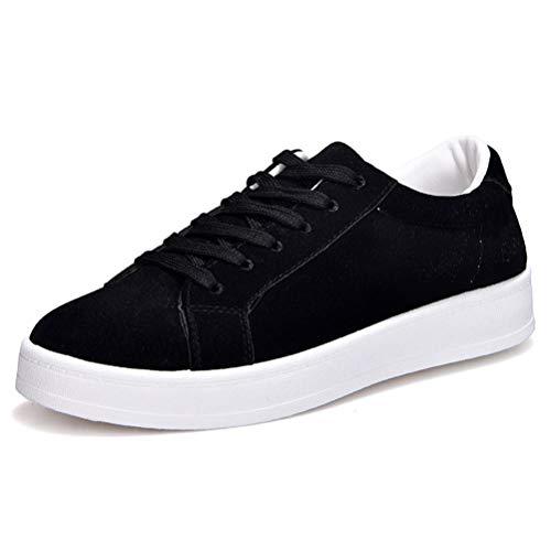 Vulcanizzate Donne Da Pizzo Sneakers Ginnastica Traspiranti Scarpe All'aperto Flats Nero Up Casual 0WwHqrU0g