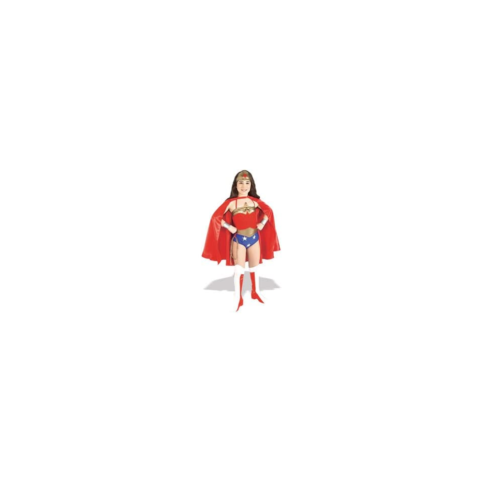 Deluxe Child Wonder Woman Costume   small