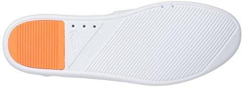 Lacoste Women's L.Ydro Lace Sneakers,Light Blu/Fluro Org Textile,7 M US