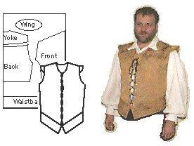 Renaissance Shirt Pattern (Randwulf's Doublet Pattern)
