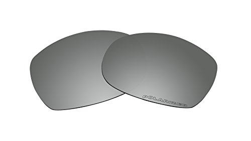 Sunglasses Polarized Lenses Replacement for Oakley Sideways Sunglasses Black Mirror - Sideways Sunglasses