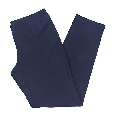 Eileen Fisher Midnight System Washable Stretch Crepe Slim Pant XS ()