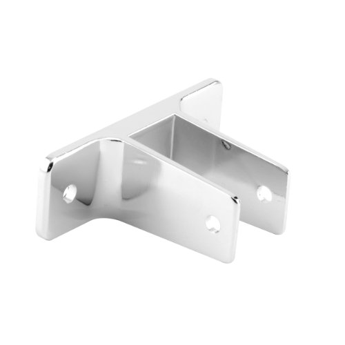Sentry Supply 650-6356 2 Ear Wall Bracket, 1-Inch, Chrome (Ear Bracket Partition)