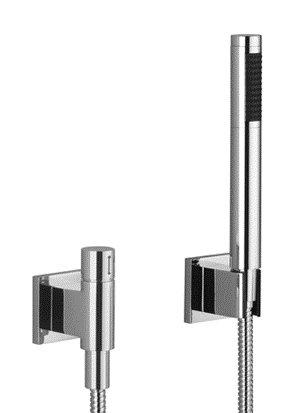 (Dornbracht 27809980-06 Symetrics Hand Shower Set With Valve Platinum Matte)