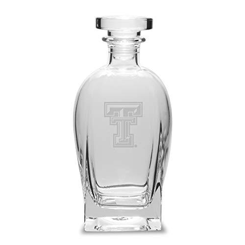 NCAA Texas Tech Red Raiders Luigi Bormioli Rossini Decanter, Clear, 23.75 oz