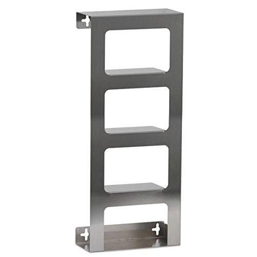 Stainless Steel Glove Dispenser Quad 10''W x 3.81''D x 24''H