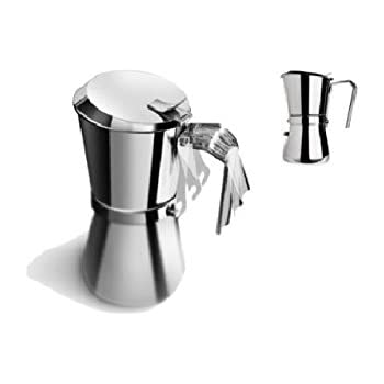 Amazon Com Giannina 9 6 Cups Stovetop Espresso Pots