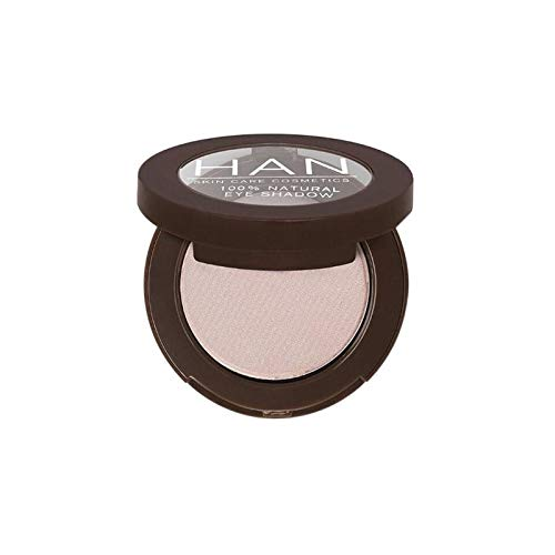 HAN Skincare Cosmetics All Natural Eyeshadow, Cool Coconut