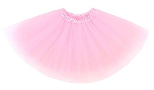 Lullaby Kids Toddlers Fairy Princess 4 Layered Girls Tulle Tutu Skirts